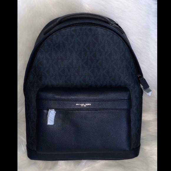 866b723d127b Michael Kors Bags | Russel Baltic Blue Bagpack | Poshmark
